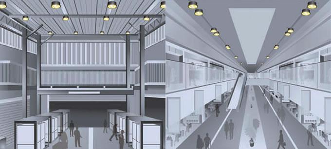 工場・倉庫・物流センターなどの照明に最適